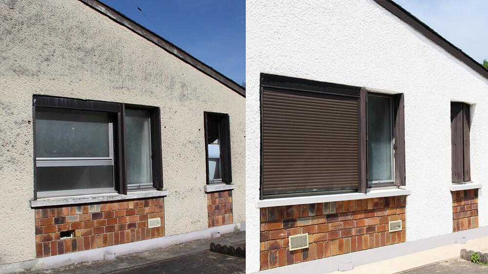 Nettoyage de façade professionnel.