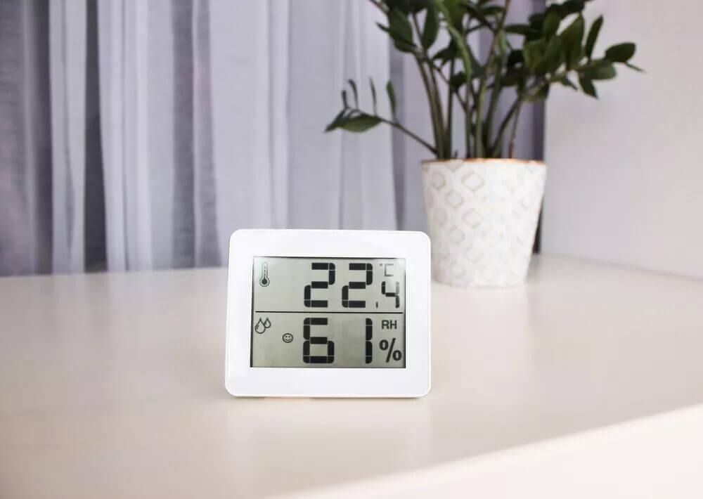 Diagnostic du taux d'humidité de la maison.